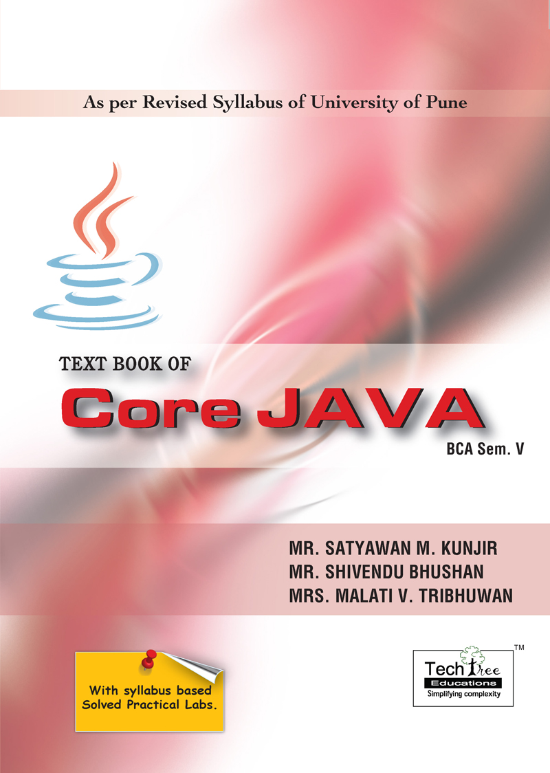 TEXTBOOK OF CORE JAVA (BCA SEM.V)